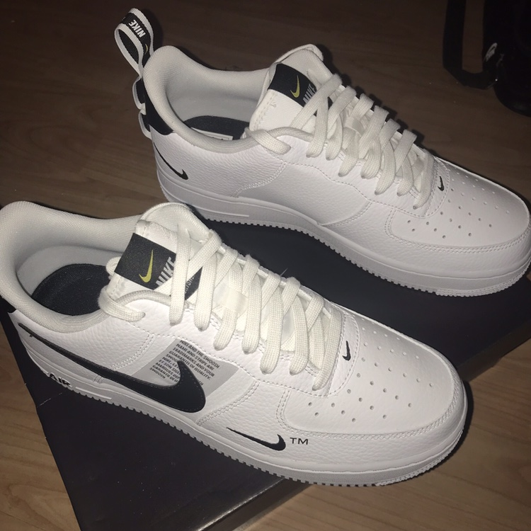 cdb2aa45 Nike Air Force 1 Utility Brand New DEADSTOCK White... - Depop