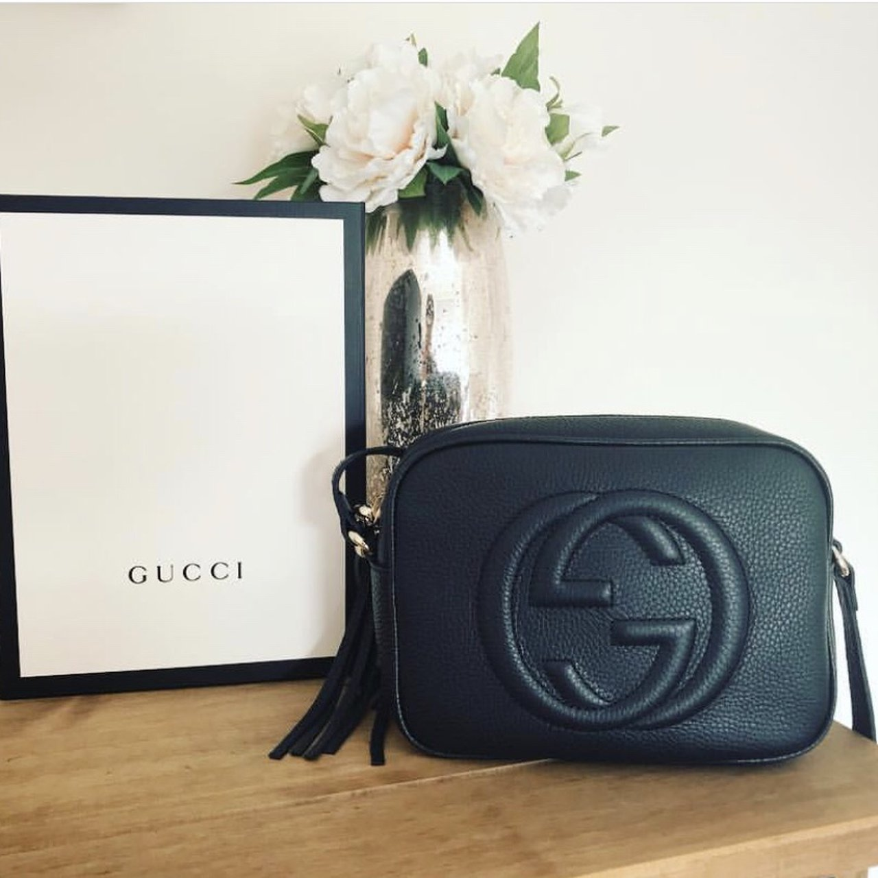 44b6851a3078cb Back on sale due to time wasting buyer*** Gucci Soho and - Depop