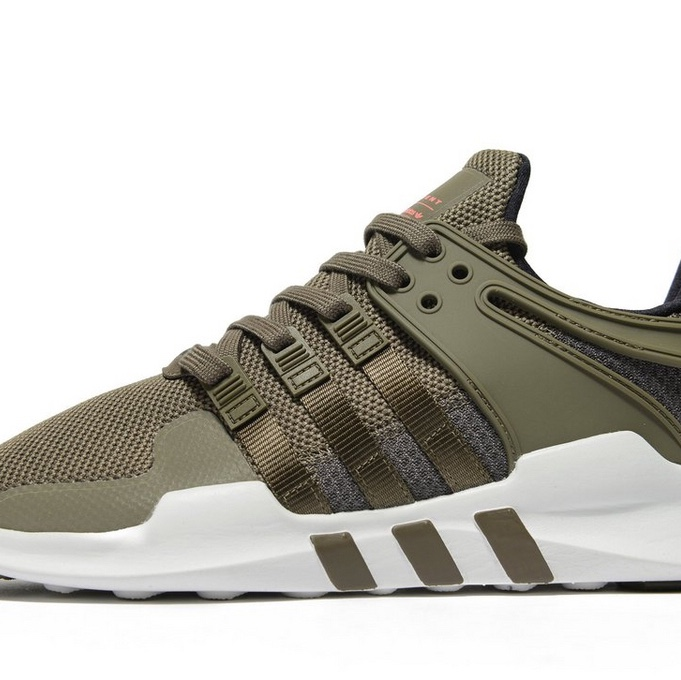 Adidas EQT khaki green trainers size 5.5, Immaculate...