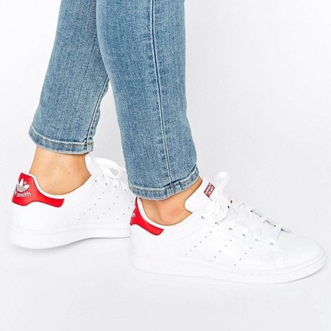 finest selection d2786 74742 Adidas Stan Smith red and- 0