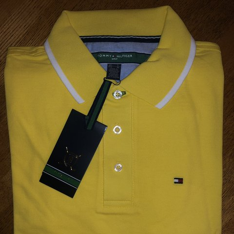 0978f3d8 @aaronlapenna9. 3 months ago. Wilmslow, United Kingdom. Tommy Hilfiger Polo.  Brand new, still in packaging and 100% genuine.