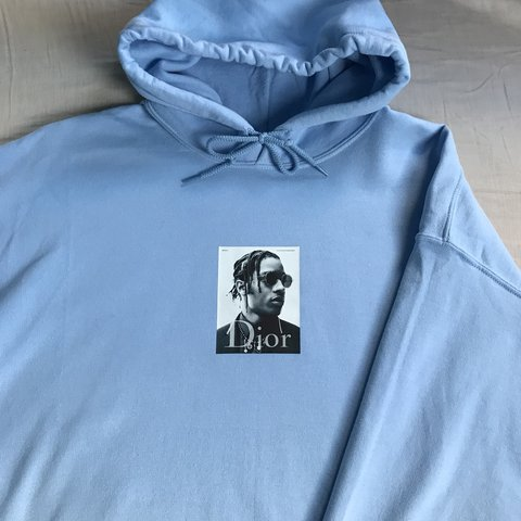 3bec2303c85  ybnstore. in 15 hours. United Kingdom. ASAP rocky hoodie. Custom Brand new.  All sizes available. MESSAGE BEFORE BUYING