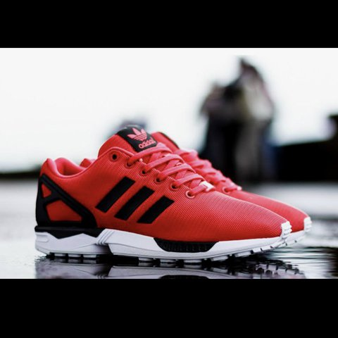 new product d127f f4dba Adidas fx flux red and- 0