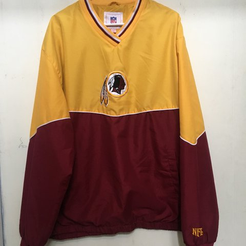 🏈Redskins Colorblock Windbreaker🏈 Official NFL merch with - Depop c30a8073c