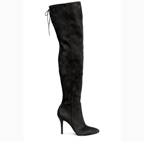 93a7477a03d Thigh high boots from fashion nova. Never worn only tried - Depop