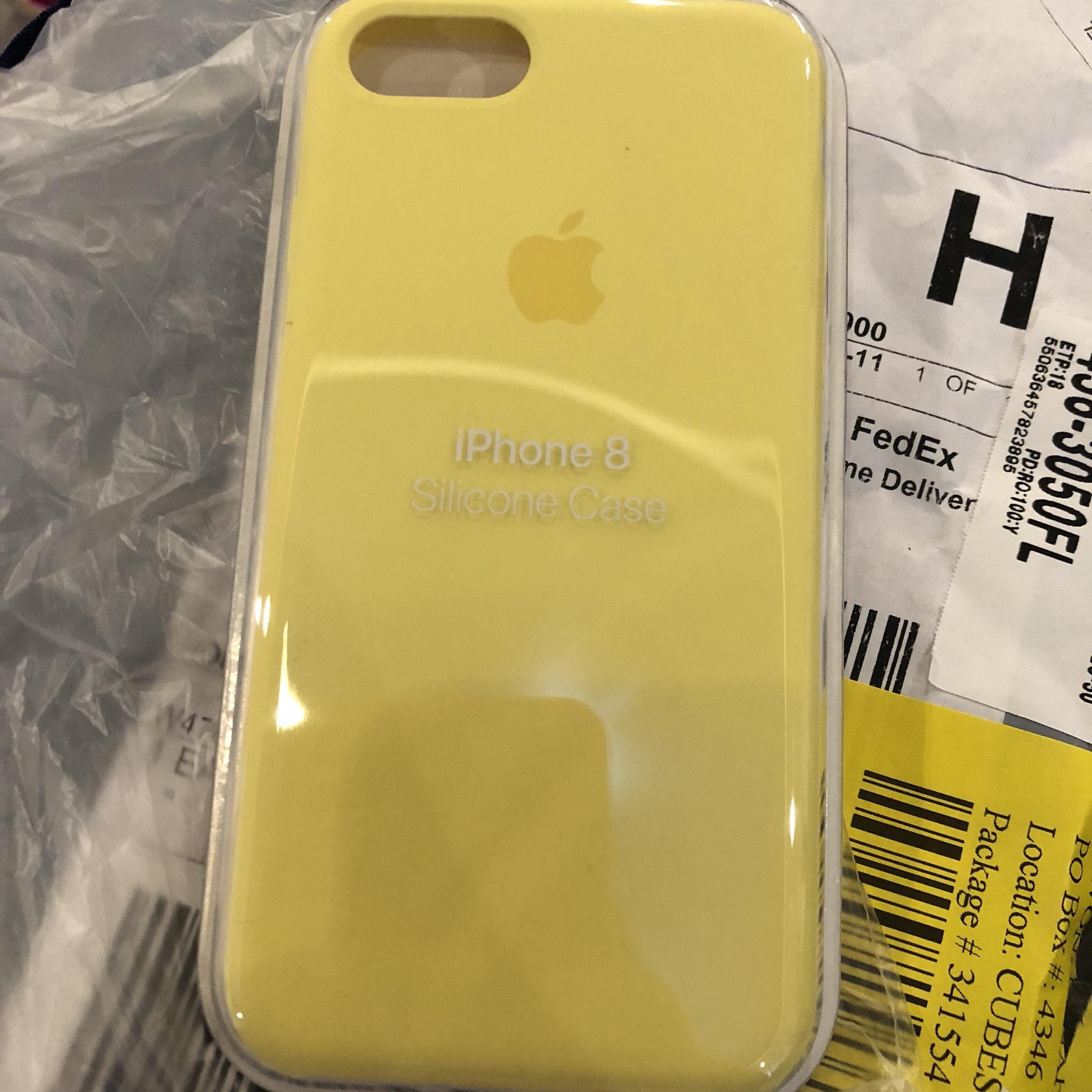 apple iphone 8 case yellow