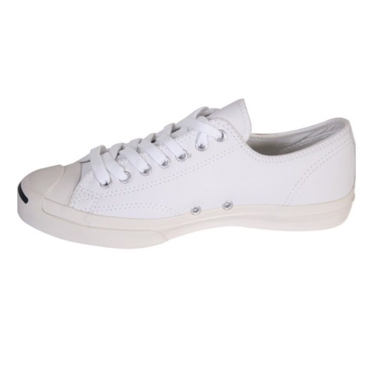 ae9ac53f529c Converse Jack Purcell White Leather Trainers 💥 NEW WITH UK - Depop