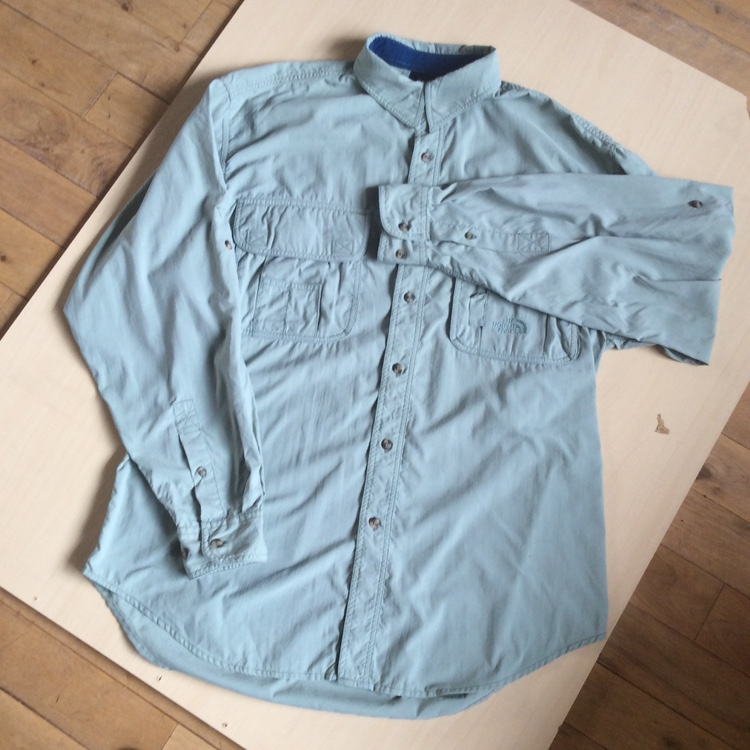 9abe07a2b VINTAGE THE NORTH FACE BUTTON DOWN UTILITY... - Depop
