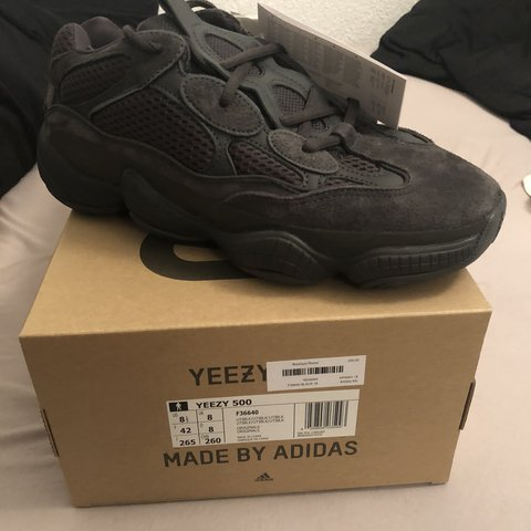 e046a550a Yeezy 500   send offers UK 8   42 DS  from Titolo with up in - Depop
