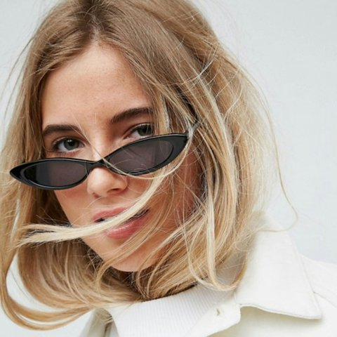 a826ee3e246 Asos Small Cat-Eye Fashion glasses. Very on-trend with the a - Depop