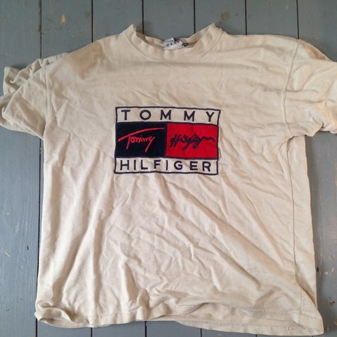 1a916f7ec @rprich. 4 months ago. Godalming, United Kingdom. Rare 90s Tommy Hilfiger  embroidered tee!