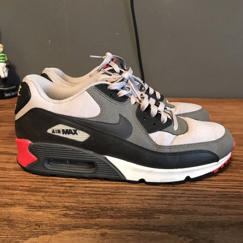"3cd5f3e254 @artjcar. 2 months ago. Ontario, United States. NIKE AIR MAX 90 ESSENTIAL ""BLACK  INFRARED"" SIZE ..."