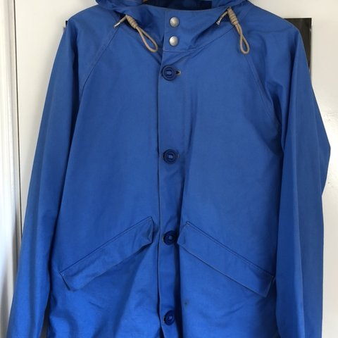 8df16ed31ec0 Nigel Cabourn Aircraft Jacket Made in England Size 50 - Depop