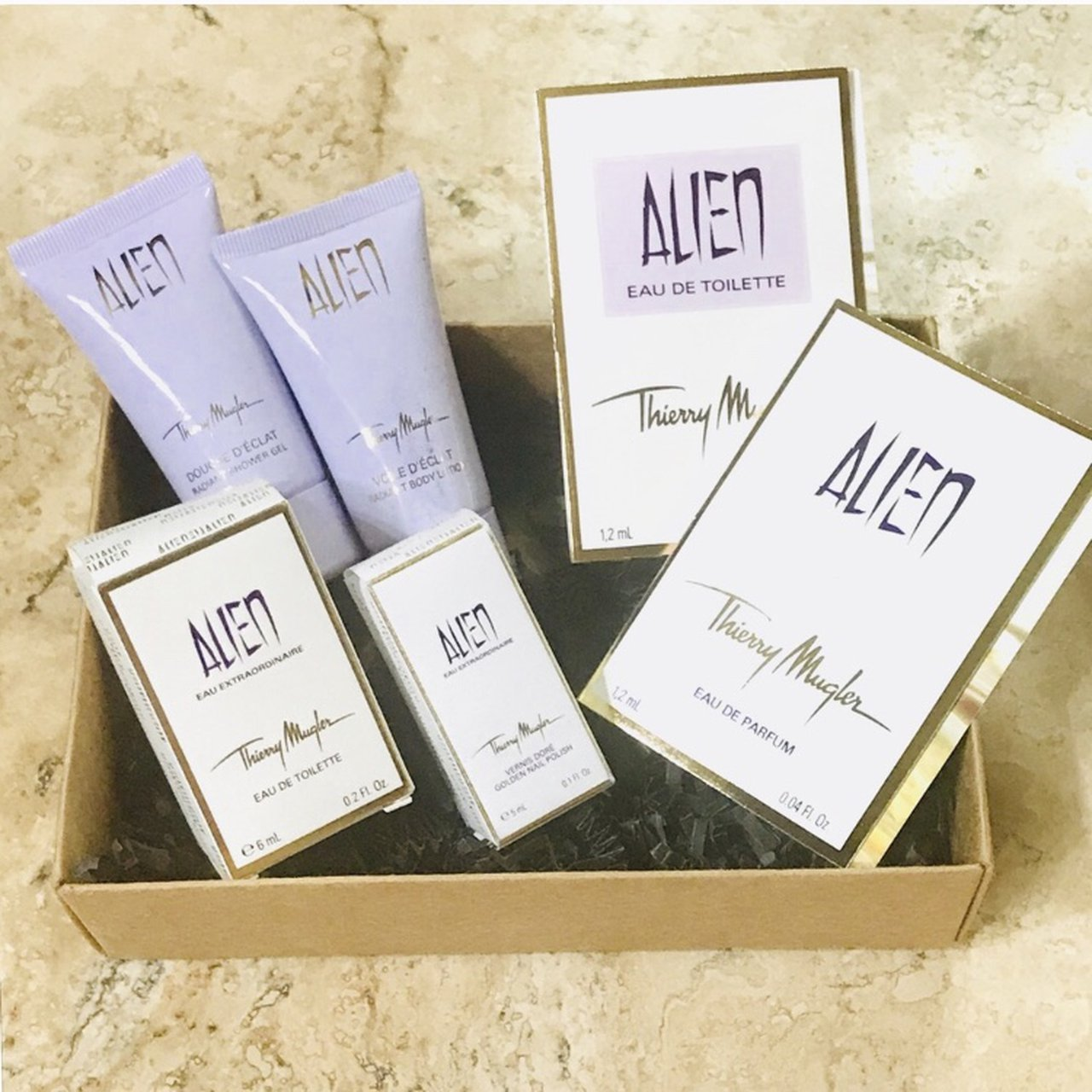 Thierry Mugler Alien Gift Set Brand New Never Used Or Eau Depop
