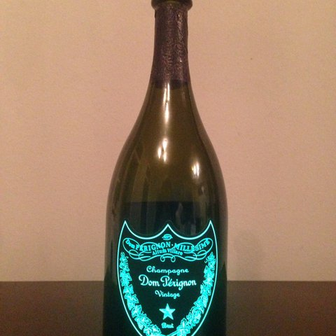 Empty Dom Perignon Luminous Bottle 750ml Perfect For No Depop
