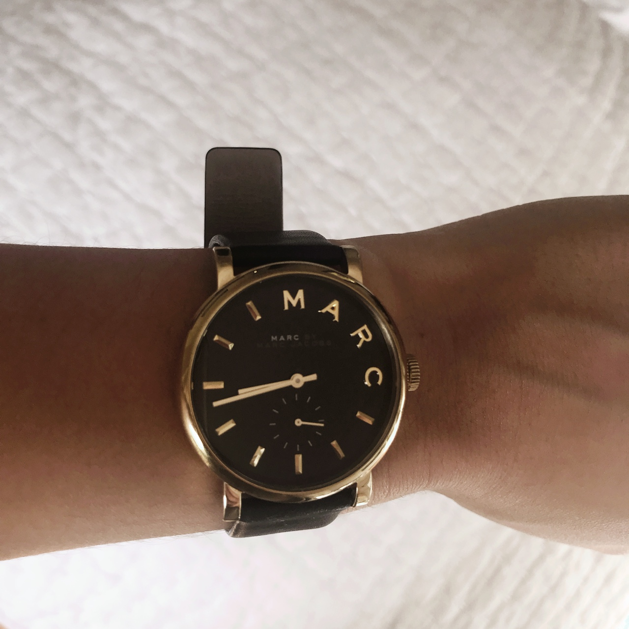 Marc By Marc Jacobs Women S Watch Black And Gold Depop
