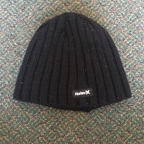 73c849decd95 @sofiavig. 3 months ago. Berkeley, United States. Simple black Hurley beanie.  Great for any kind of weather ...