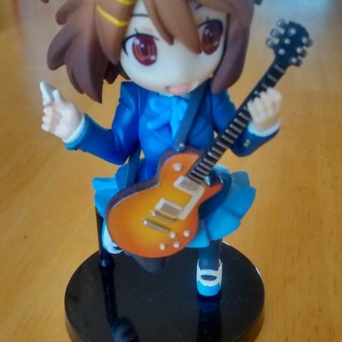 K On Yui Hirasawa R Style Chibi Figure Like New Comes In