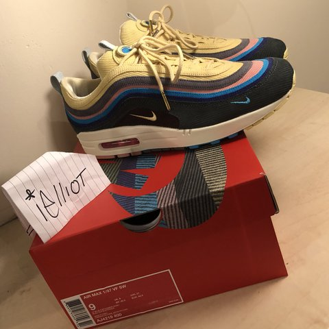 fdd5fda27cc NIKE AIR MAX 1 97 Sean Wotherspoon 🍭 👉🏽 Size 8 👉🏽 New - Depop