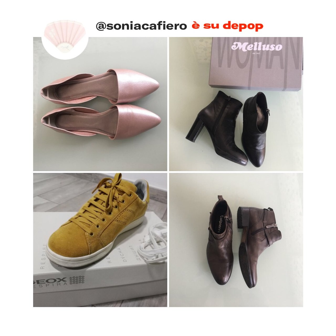 Listed on Depop by soniacafiero