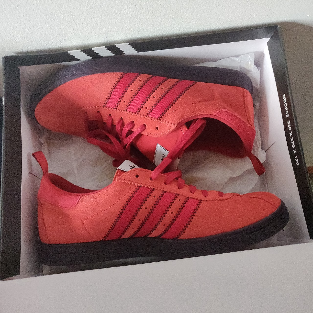 Adidas x C.P Company Tobacco trainers, untagged but