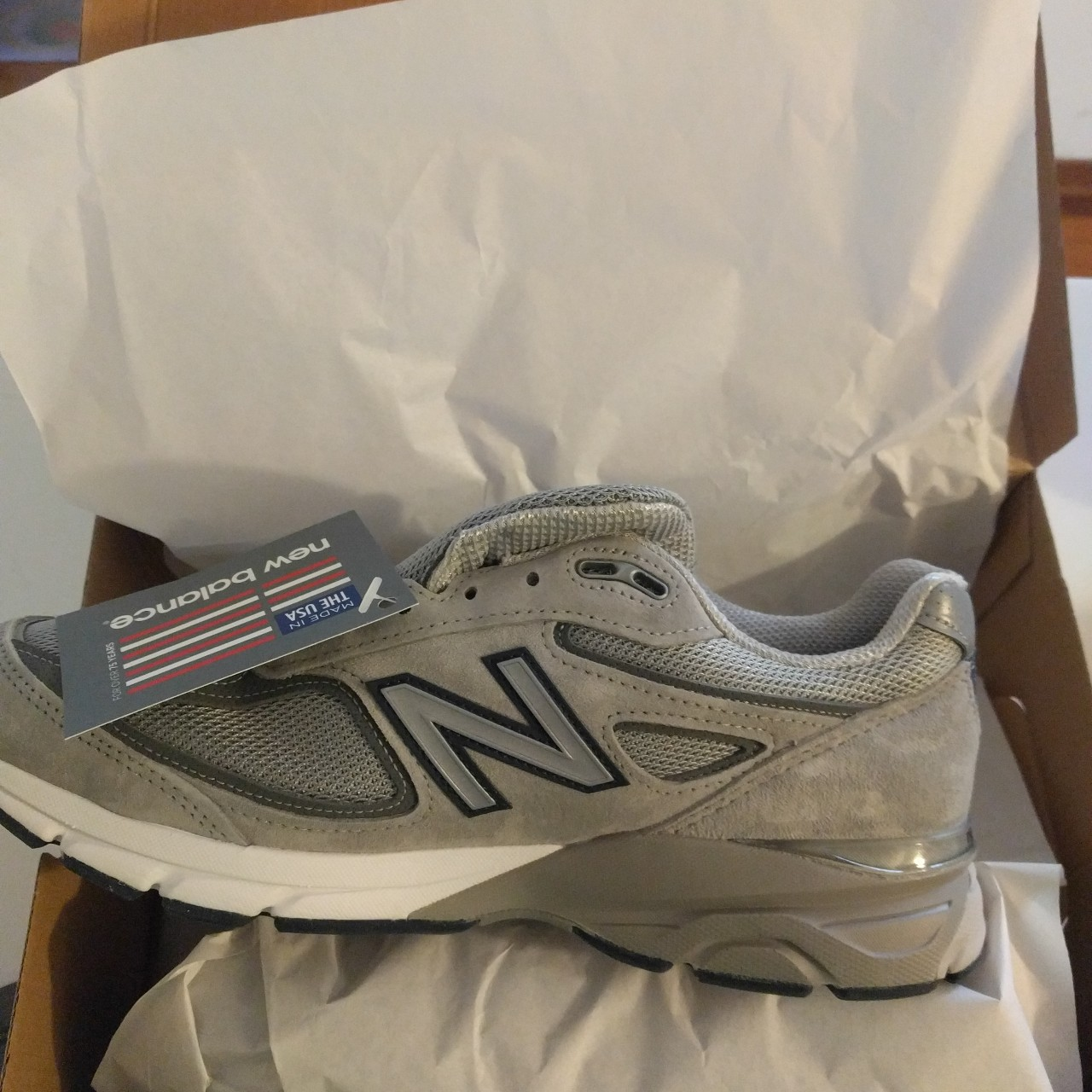 cheaper b2789 4fc4d New balance 990 v4 made in 1982 - US10 - Depop