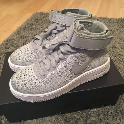 the latest 2f084 ea9f0  paigeycakey. 2 years ago. London, UK. GREY WHITE NIKE AIR FORCE 1 ...