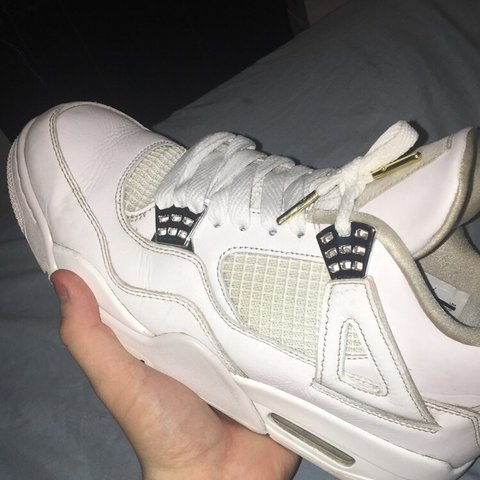 803b95cf440ed5 Jordan 4 pure money Will come with the box 8 10 condition ✅ - Depop
