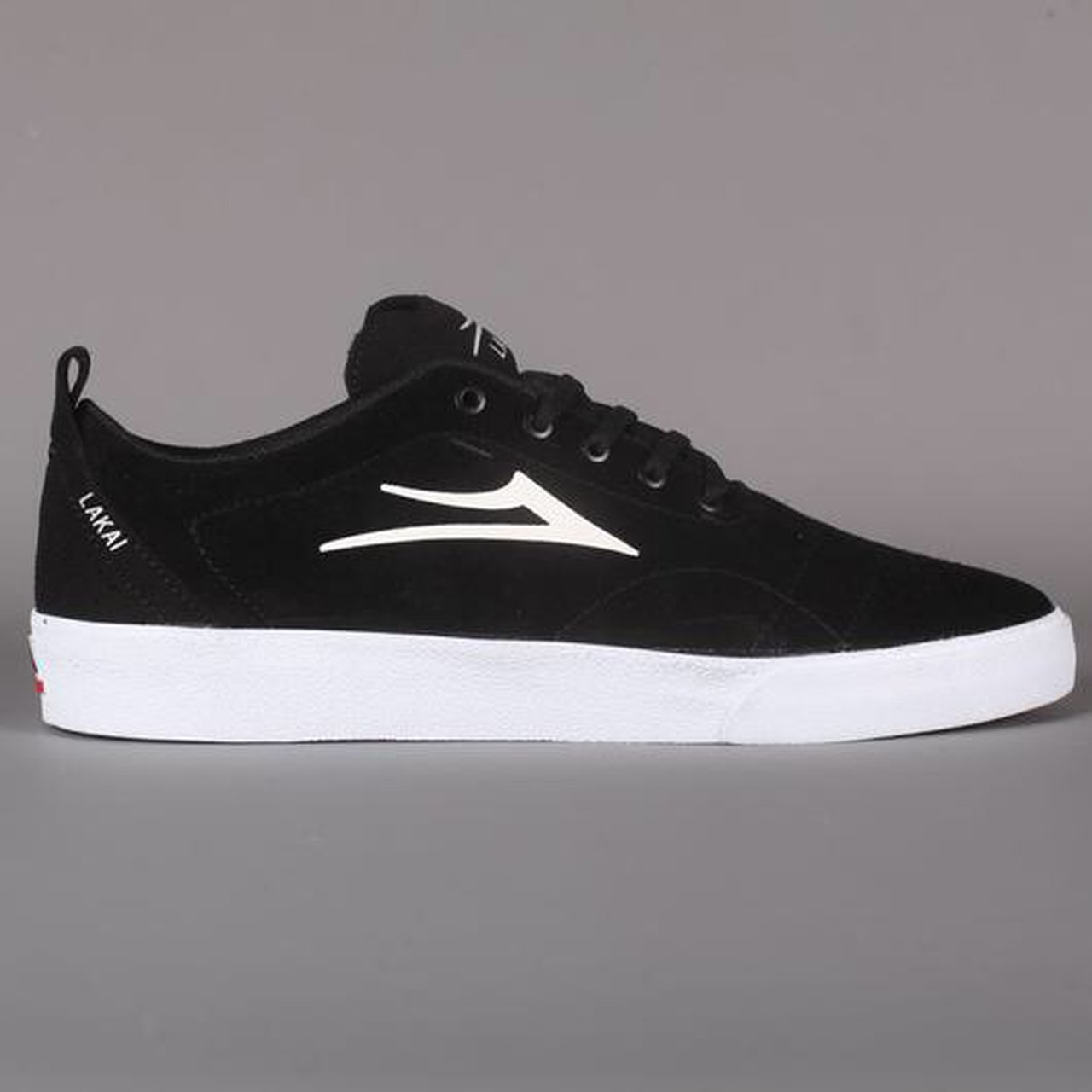 b5c7009f09e Lakai  Bristol  Skate Shoes (Black   White Suede) the skate - Depop