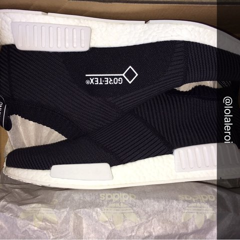 1225105fb46ce ADIDAS NMD CS1 GORE-TEX in BLACK • Size  US 12  UK 11.5 • a - Depop