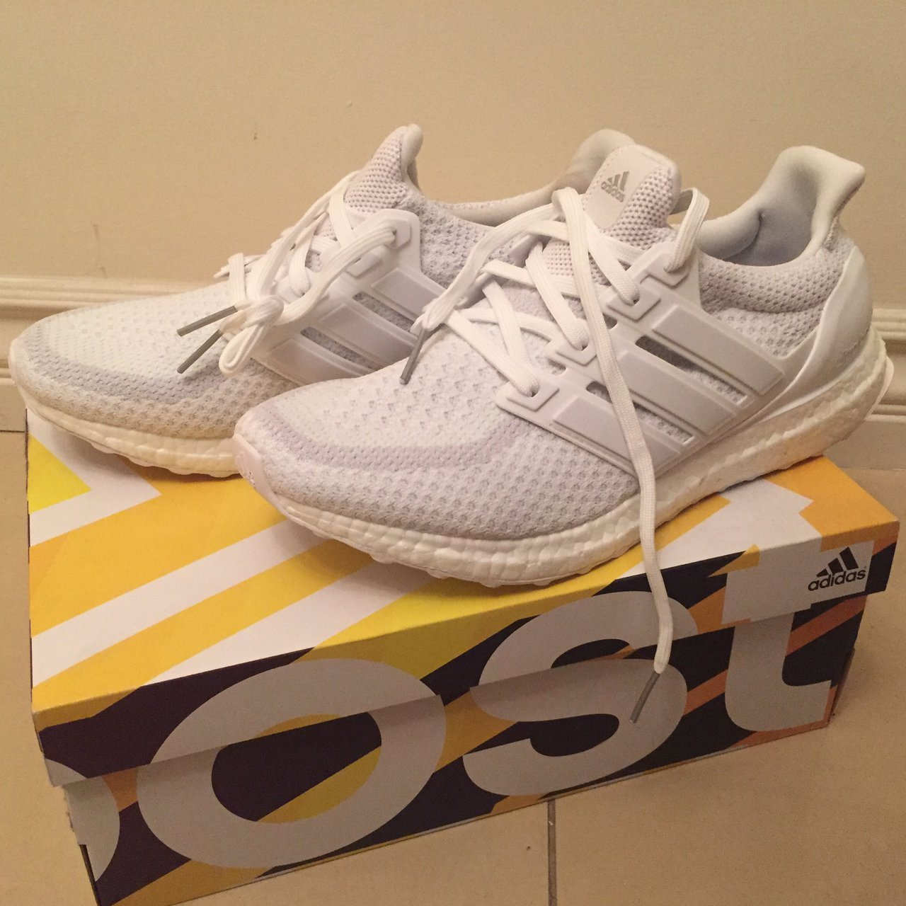 slowcity. last month. United States. ADIDAS UltraBOOST 2.0 Triple White  Brand new ... 17da42c2e