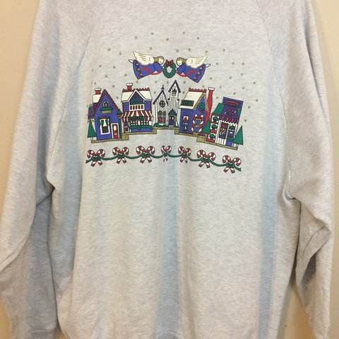 538c6f1b @goldenfind. FollowingFollow. 11 months ago. Ohio, USA. Vintage Ugly  Christmas sweater/sweatshirt ...