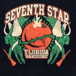 3a2d5621 Seventh Star. FLHC. Florida Hardcore. $15 · Facedown Records shirt from the