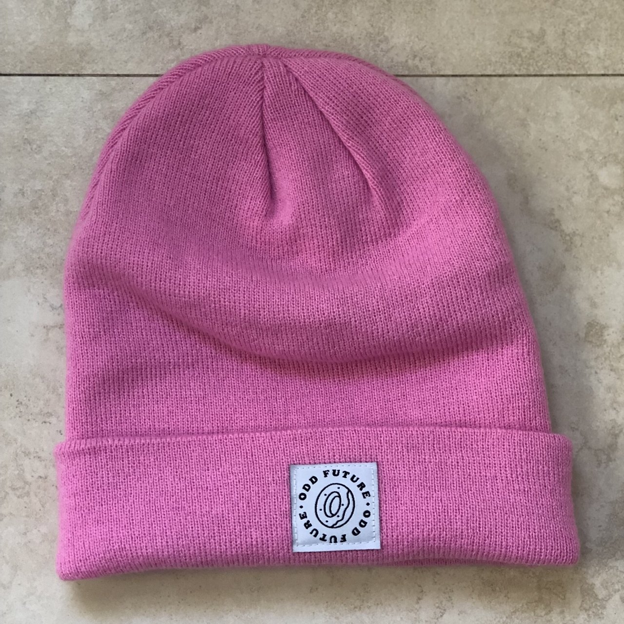 bbd09beeb5 Odd future beanie. Never worn before. In great condition. - Depop