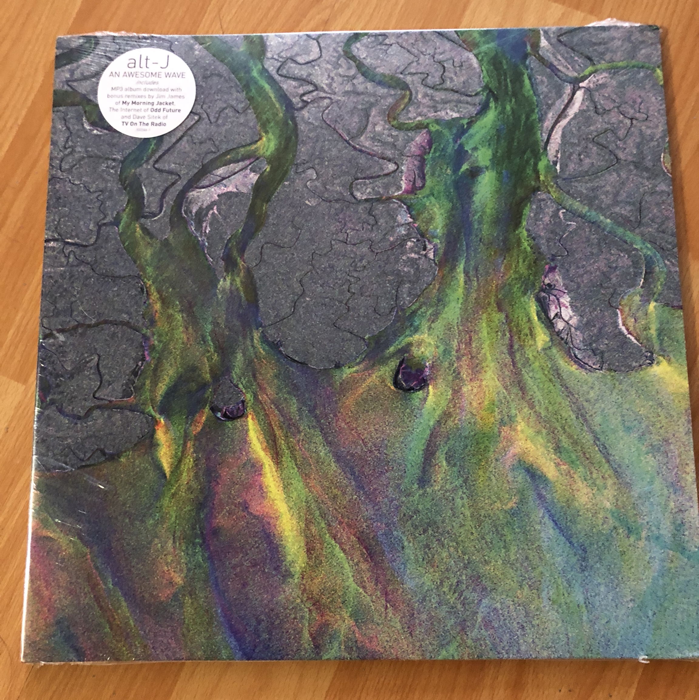 ALT J AN AWESOME WAVE RECORD NEVER OPENED - Depop