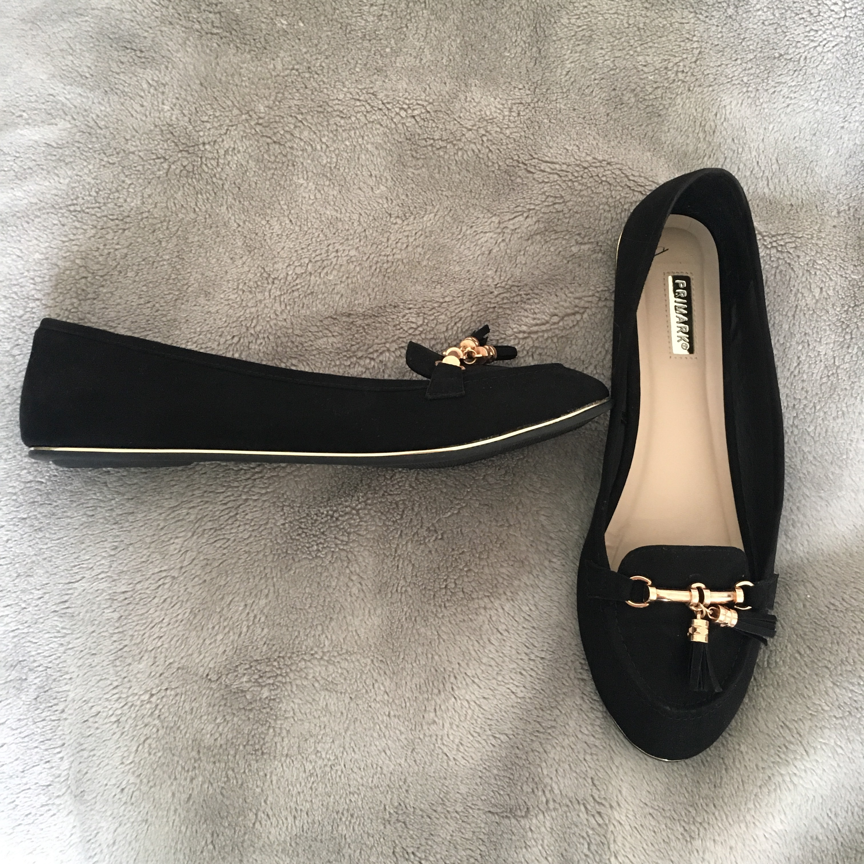 Primark Black Pumps/Dolly Shoes with