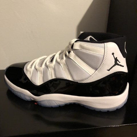 611a5c7a52e724 DS Size 11 Concord Jordan 11s Bought off of Nike SNKRS Comes - Depop