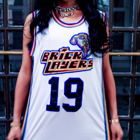 6b3789cd99ca 🔥Aaliyah Bricklayers Basketball Jersey🔥 sponsored by MTV - Depop
