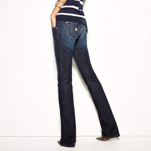 b41a9305c1c @shopburundy. last year. Pennsylvania, USA. Hudson Beth Baby Boot Jeans,  cotton blend, dark indigo wash ...