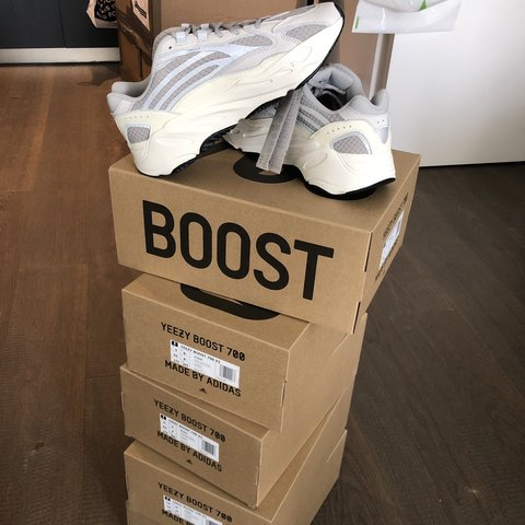 a75835838 @hypernik. yesterday. London, United Kingdom. Yeezy Boost 700 V2 Static  Brand New With Tags Sizes: UK 8.5 ...