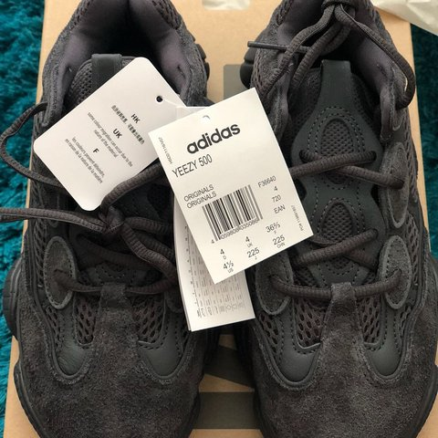 9997e640f2746 Adidas Yeezy 500 Utility Black In hand and ready to ship ❌ - Depop