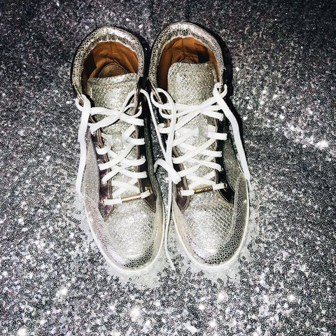 2ee14a083afd Jimmy Choo Tokyo Trainers EU 36.5   UK 3.5. Please note I am - Depop