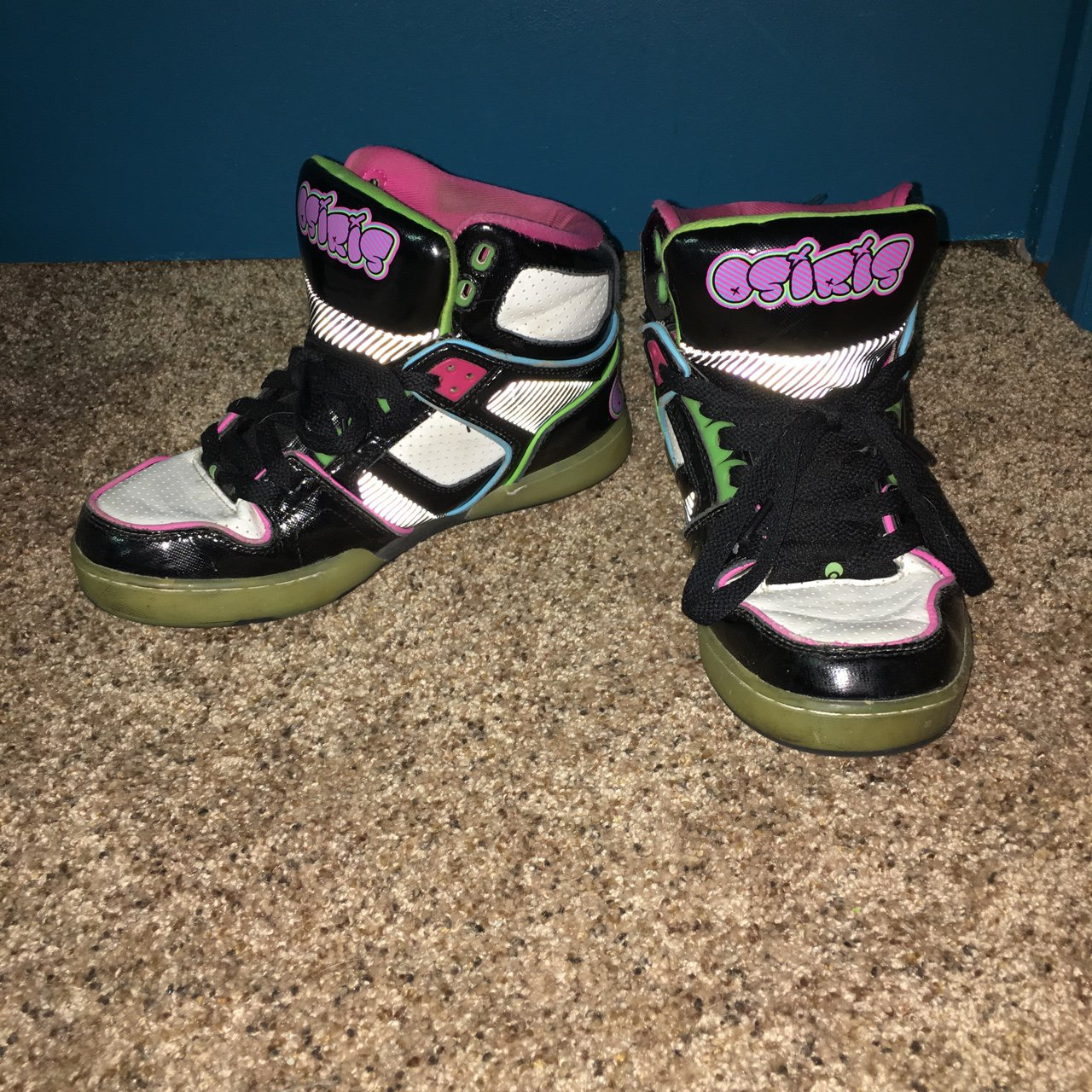 6f3054e9452 Osiris Gently Used High tops Sneakers Multicolored Free Shipping DO NOT- 0