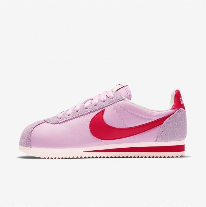 new product 45c98 0e272 Pink and red Nike cortez trainers #nike #nikecortez... - Depop