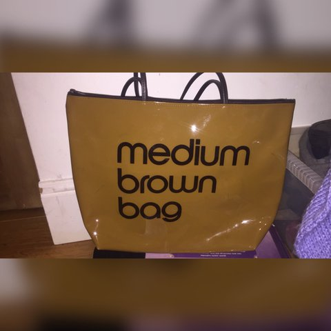 f6ffe199454 @cwardle77. last year. Kidderminster, United Kingdom. REDUCED!!! Bloomingdales  medium brown bag ...