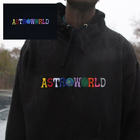 7372cd233d64 AUTHENTIC ASTROWORLD WISH YOU WHERE HERE HOODIE •Great • - Depop