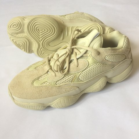 83cac1bd88fce  thriftcrack. 4 months ago. United States. 🌕YEEZY 500 SUPER MOON YELLOW🌕  Size 10.5