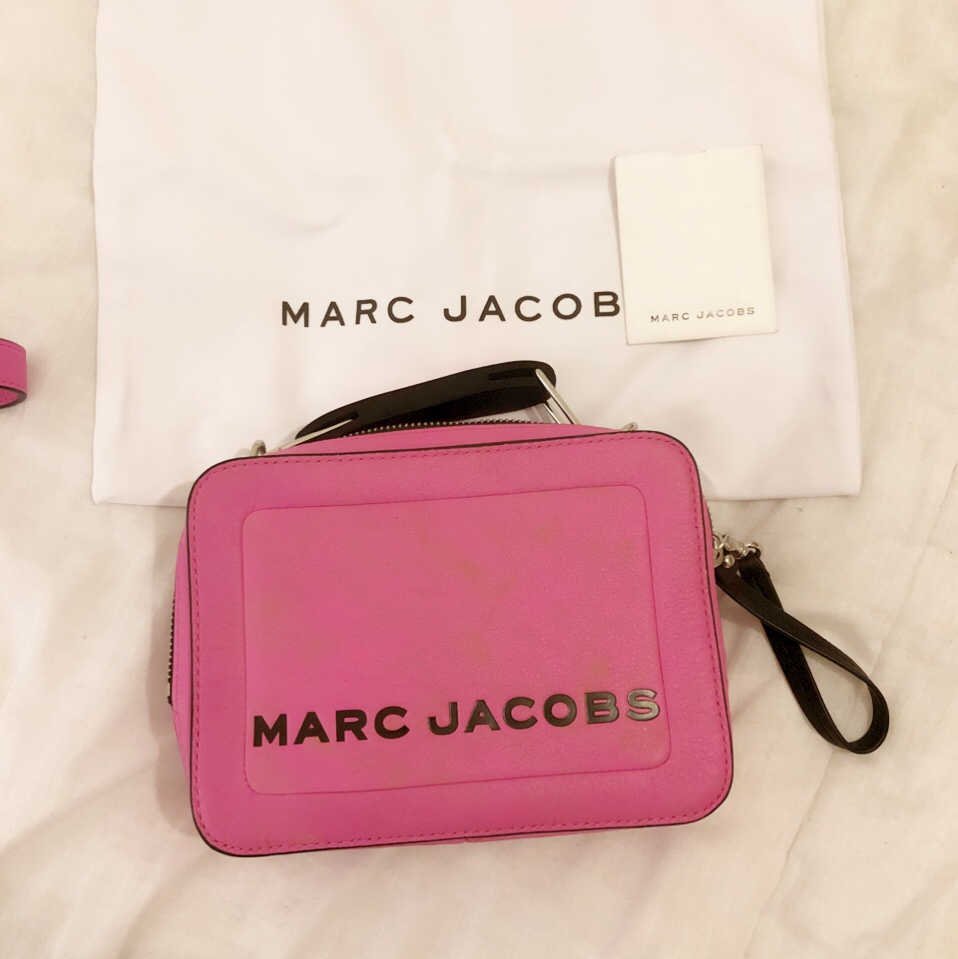 Selling My Mini Bag Marc Jacobs The Box Bag Leather by Depop