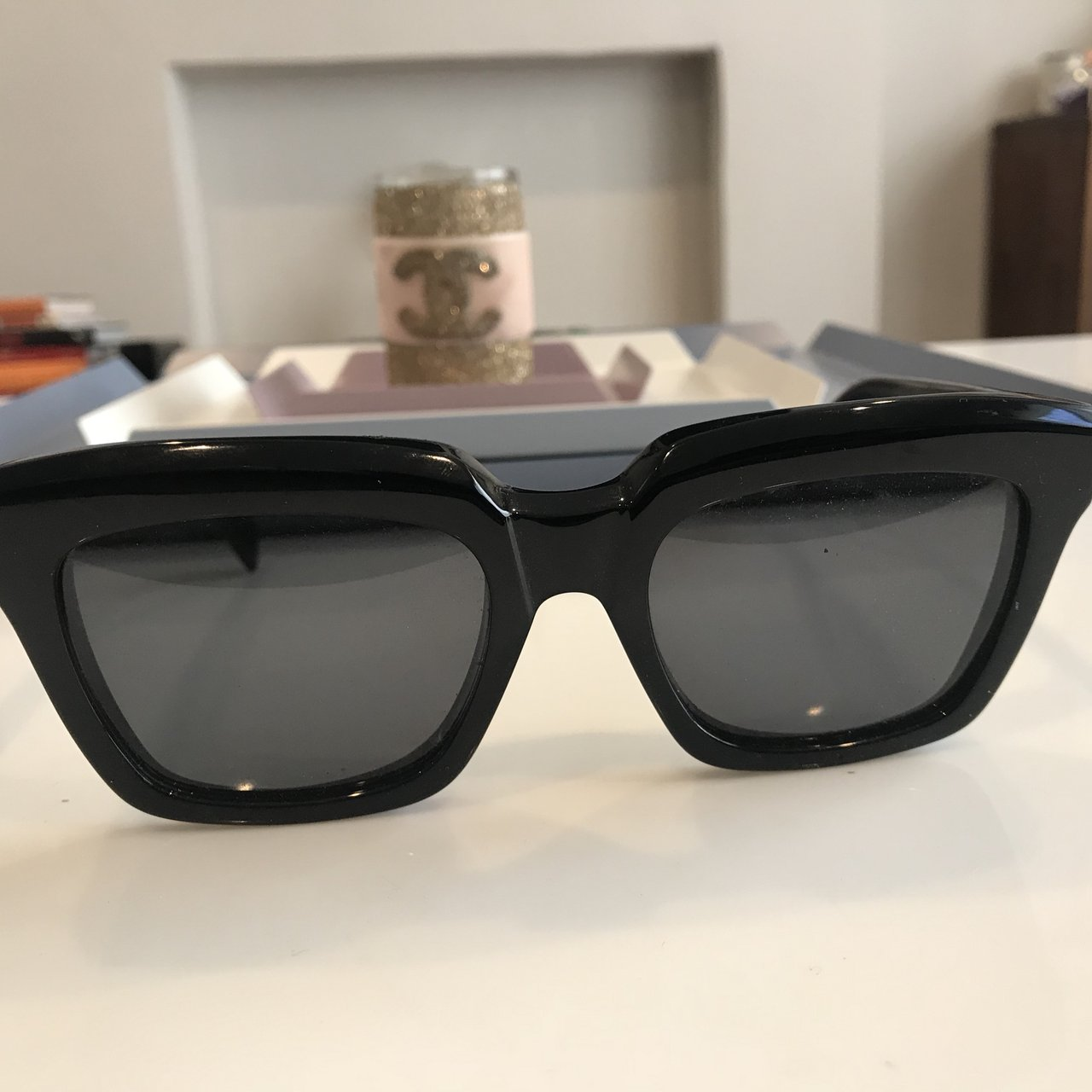 cb55c5b34f72 Celine Sunglasses. Worn only twice for a styling job. Iconic - Depop