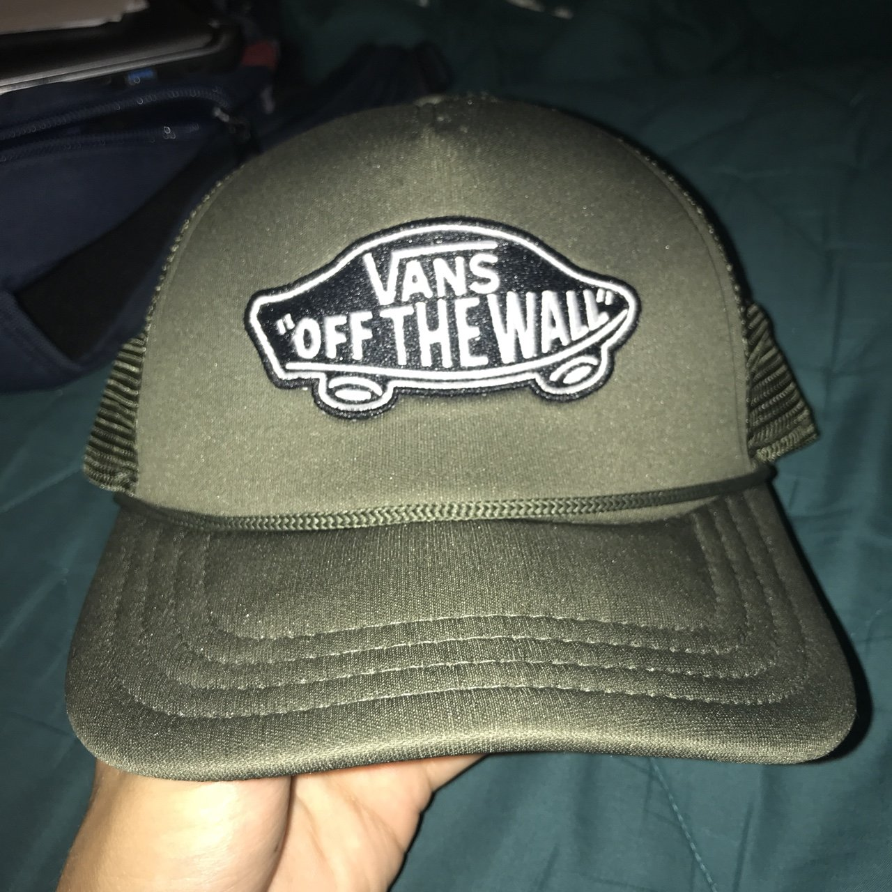 Awesome Vans Trucker Cap Army Green 734d92c3ed8